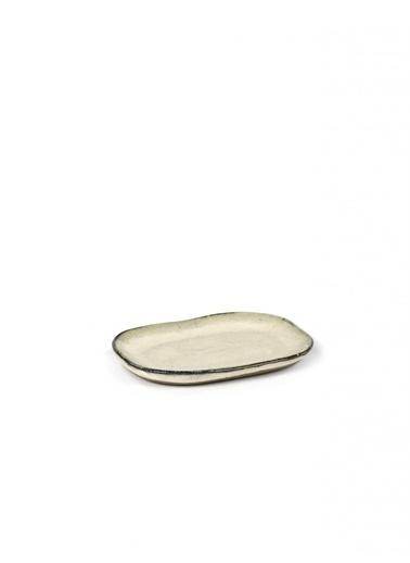 Serax Merci Beyaz Mini Tabak 10X6,5Cm Beyaz